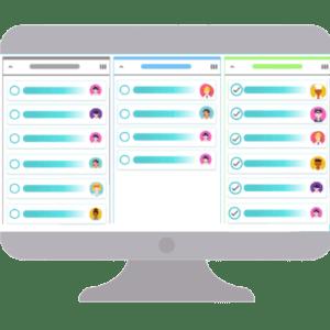 Utilize o Kanban para visualizar o fluxo de trabalho na sua empresa e no seu dia.